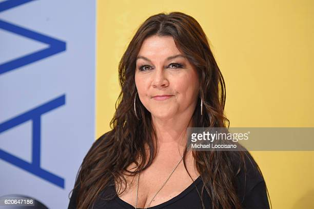 Musical artist Gretchen Wilson attends the 50th annual CMA Awards at the Bridgestone Arena on November 2 2016 in Nashville Tennessee