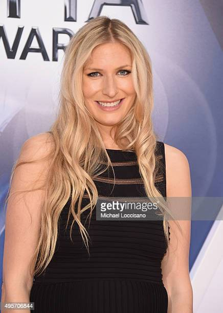 Musical artist Holly Williams attends the 49th annual CMA Awards at the Bridgestone Arena on November 4 2015 in Nashville Tennessee