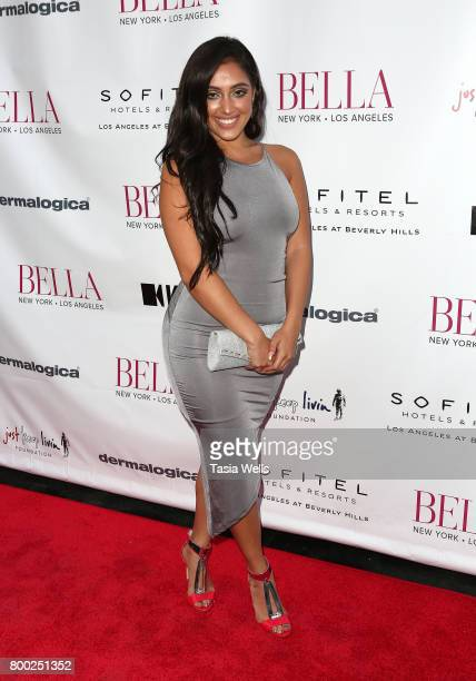 Musical artist Inas X attends the BELLA Los Angeles Summer Issue Cover Launch Party at Sofitel Los Angeles At Beverly Hills on June 23 2017 in Los...