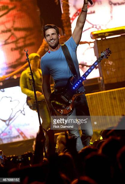 Musical artist Jake Owen performs onstage during Kenny Chesney's The Big Revival 2015 Tour kickoff for a 55 show run through August The highenergy...