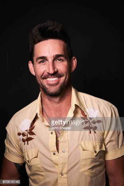Musical artist Jake Owen poses in the portrait studio at the 2018 CMA Music Festival at Nissan Stadium on June 8 2018 in Nashville Tennessee