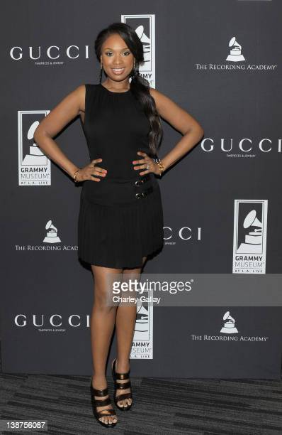 Musical artist Jennifer Hudson attends 'Gucci Timepieces and Jewelry Premieres Music Preservation Program and GRAMMY Museum Watch with Jennifer...