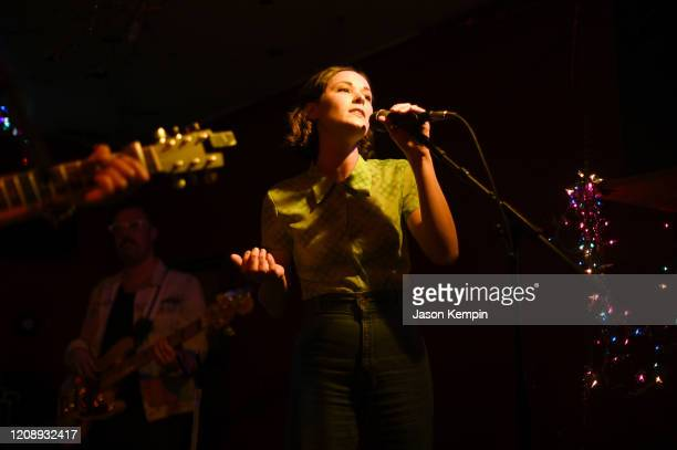 Musical artist Jillian Jacqueline performs at Springwater on February 26 2020 in Nashville Tennessee