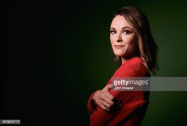 Musical artist Jillian Jacqueline poses in the portrait studio at the 2018 CMA Music Festival at Nissan Stadium on June 9 2018 in Nashville Tennessee
