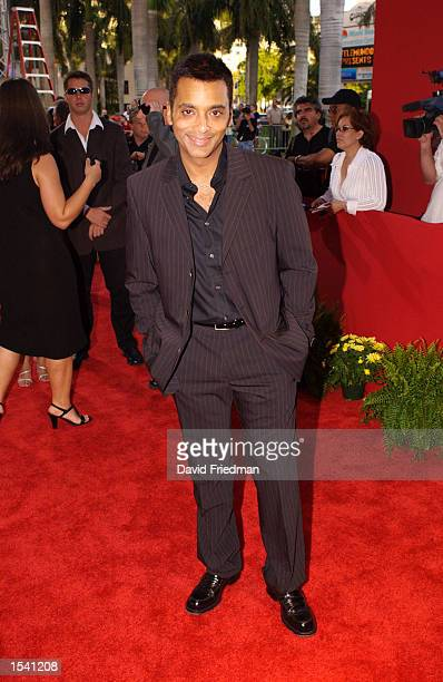 Musical artist Jon Secada attends the Billboard Latin Music Awards May 9 2002 at the Jackie Gleason Theater in Miami Beach FL