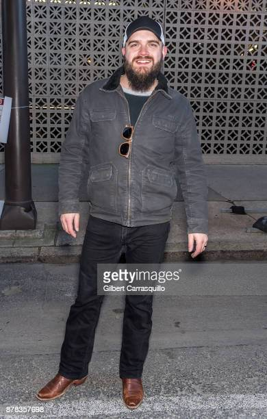 Musical artist Josh Gallagher attends the 98th Annual 6abc/Dunkin' Donuts Thanksgiving Day Parade on November 23 2017 in Philadelphia Pennsylvania