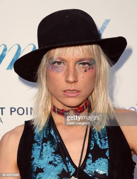 Musical artist Kate Crash attends Magnolia Pictures' 'Damsel' premiere at ArcLight Hollywood on June 13 2018 in Hollywood California