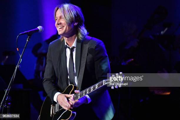 Musical artist Keith Urban peforms onstage during Lincoln Center's American Songbook Gala at Alice Tully Hall on May 29 2018 in New York City