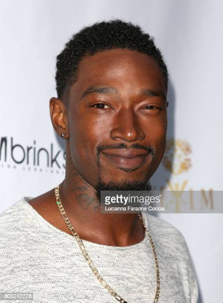 Musical artist Kevin McCall attends Yekim X Brinks, a day party and fashion experience at Penthouse Nightclub & Dayclub on June 23, 2017 in West...