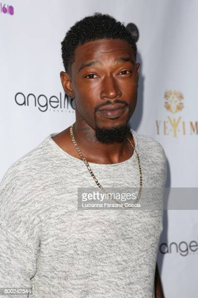 Musical artist Kevin McCall attends Yekim X Brinks a day party and fashion experience at Penthouse Nightclub Dayclub on June 23 2017 in West...