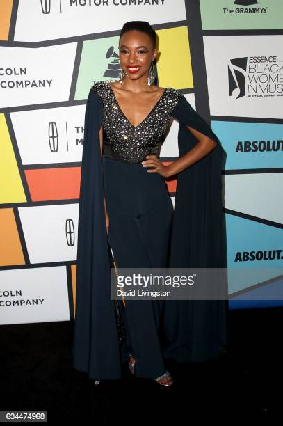 Musical artist Kriss Mincey attends the 8th Annual Essence Black Women in Music Event at NeueHouse Hollywood on February 9 2017 in Los Angeles...