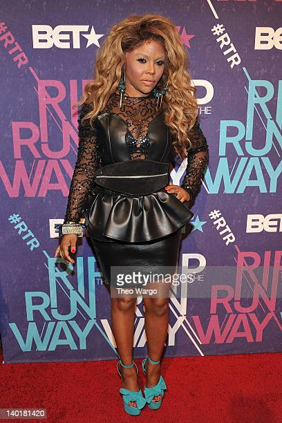 Musical artist Lil' Kim attends BET's Rip The Runway 2012 at Hammerstein Ballroom on February 29, 2012 in New York City.
