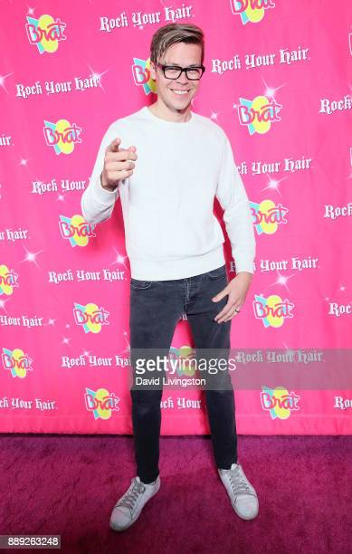 Musical artist Matt Slays attends social media influencer Annie LeBlanc's 13th birthday party at Calamigos Beach Club on December 9 2017 in Malibu...