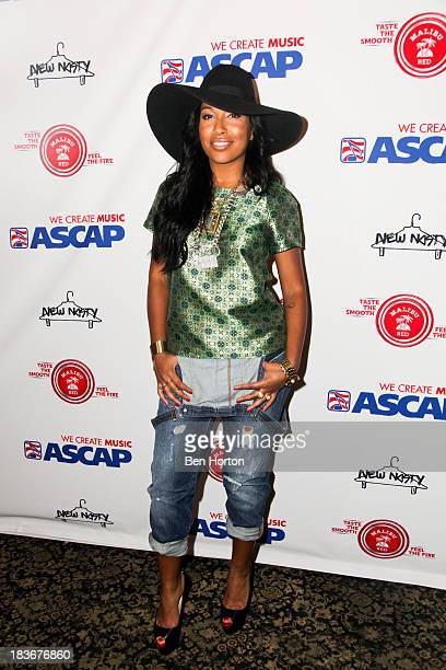 Musical artist Melanie Fiona attends ASCAP's 5th annual Women Behind The Music series at Bardot on October 8 2013 in Los Angeles California