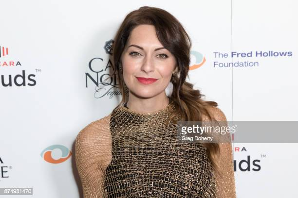 Musical Artist Nadia Lanfranconi attends the Joel Edgerton Presents The Inaugural Los Angeles Gala Dinner In Support Of The Fred Hollows Foundation...