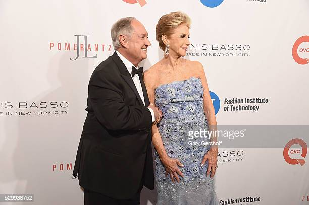 Musical artist Neil Sedaka and wife Leba Strassberg attend the Fashion Institute Of Technology's 2016 FIT Gala at the Grand Ballroom at The Plaza...
