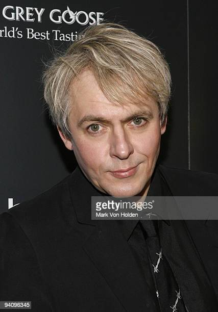 """Musical artist Nick Rhodes attends a screening of """"A Single Man"""" hosted by the Cinema Society and Tom Ford at The Museum of Modern Art on December 6,..."""