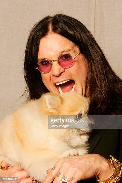 Musical artist Ozzy Osbourne poses for a portrait to promote the Tsunami relief charity single a cover of the Sir Eric Clapton ballad 'Tears In...