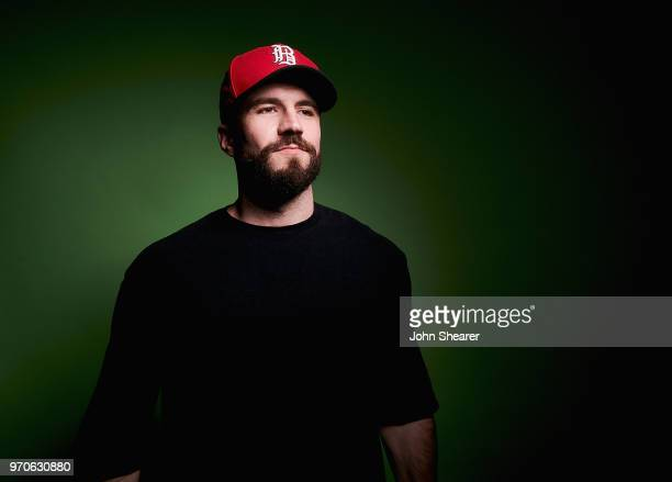Musical artist Sam Hunt poses in the portrait studio at the 2018 CMA Music Festival at Nissan Stadium on June 9 2018 in Nashville Tennessee