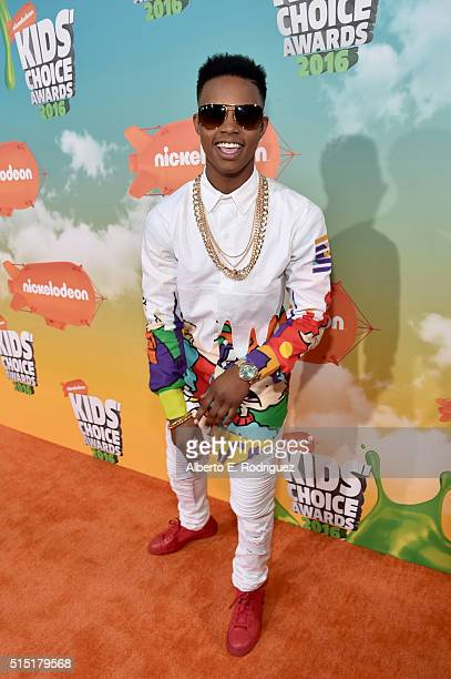 Musical artist Silento attends Nickelodeon's 2016 Kids' Choice Awards at The Forum on March 12 2016 in Inglewood California