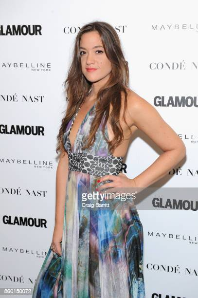 "Musical artist Tennille Amor attends Glamour's ""The Girl Project"" on the International Day of the Girl on October 11, 2017 in New York City."