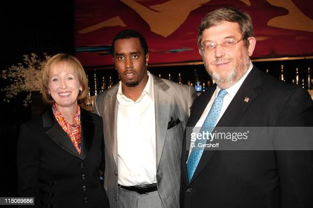 """Musical Artist/Entrepreneur Sean """"Diddy Combs"""", along with Chief Marketing Officer of Diageo, Debra Kelly Ennis and EVP Guy Smith , announces his..."""