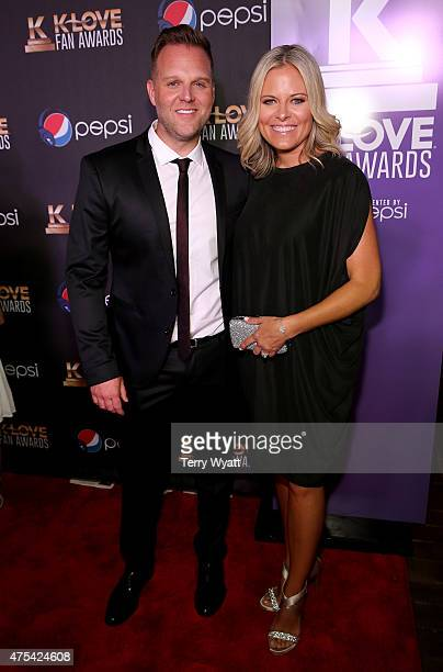 Musical artists Matthew West and Emily West attend the 3rd Annual KLOVE Fan Awards at the Grand Ole Opry House on May 31 2015 in Nashville Tennessee