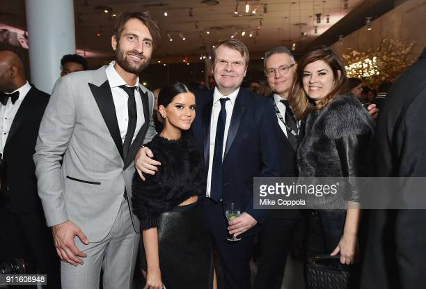 Musical artists Ryan Hurd and Maren Morris CEO of Sony Music Entertainment Rob Stringer Chairman and CEO of Sony Music Nashville Randy Goodman and...