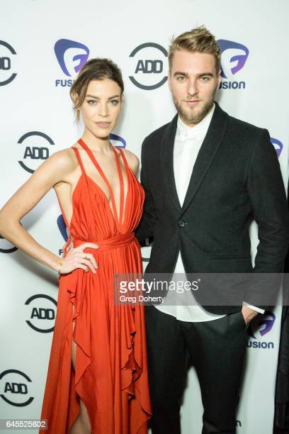 Musical Artists Showtek Eva Shaw attend the 2nd Annual All Def Movie Awards at Belasco Theatre on February 22 2017 in Los Angeles California