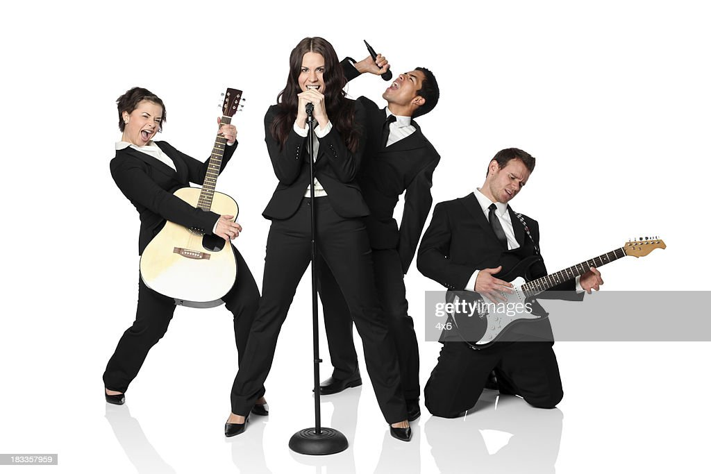 Musical band : Stock Photo