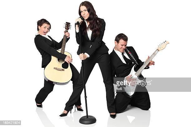 banda musical - banda de rock - fotografias e filmes do acervo