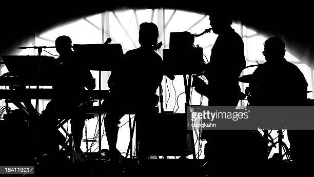 Musical Band Silhouette