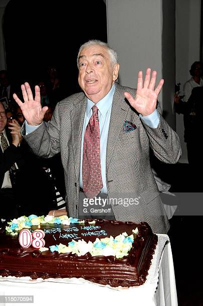 Musical composer Jerry Bock during the Encompass New Opera Theatre celebration of Jerry Bock's 80th birthday at the National Arts Club on May 18,...