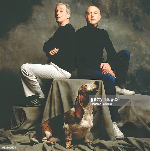 Musical composing team Jerry Leiber and Mike Stoller
