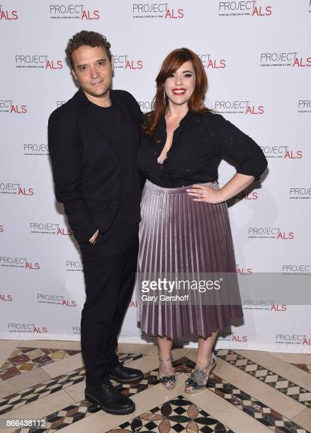 Musical conductor and musician Adam BenDavid and event entertainer Alysha Umphress attend the 19th Annual Project ALS Benefit gala at Cipriani 42nd...