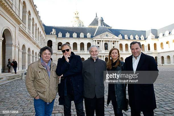 Musical direction Patrick Souillot Sets and Costumes Enki Bilal Stage Director Jacques Attali First violin and Orchestra Director Anne Gravoin and...