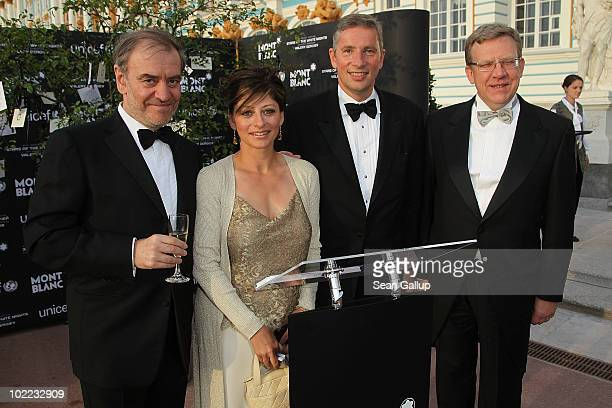 Musical Director and Conductor Valery Gergiev Maria Bartiromo business news anchor of CNBC Klaus Kleinfeld CEO of Alcoa and Alexei Leonidovich Kudrin...