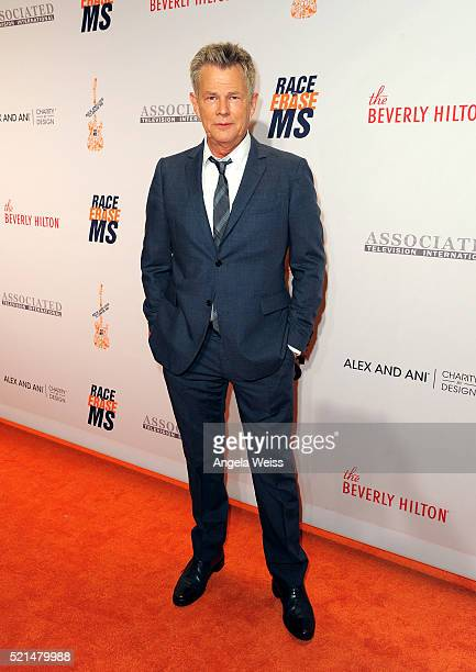 Musical director David Foster attends the 23rd Annual Race To Erase MS Gala at The Beverly Hilton Hotel on April 15 2016 in Beverly Hills California