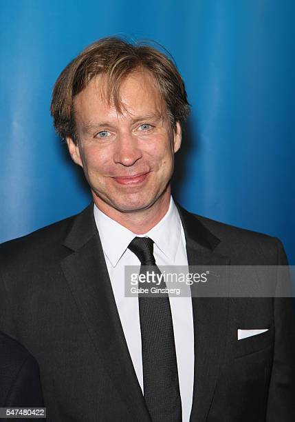 Musical director Giles Martin attends the 10th anniversary celebration of 'The Beatles LOVE by Cirque du Soleil' at The Mirage Hotel Casino on July...