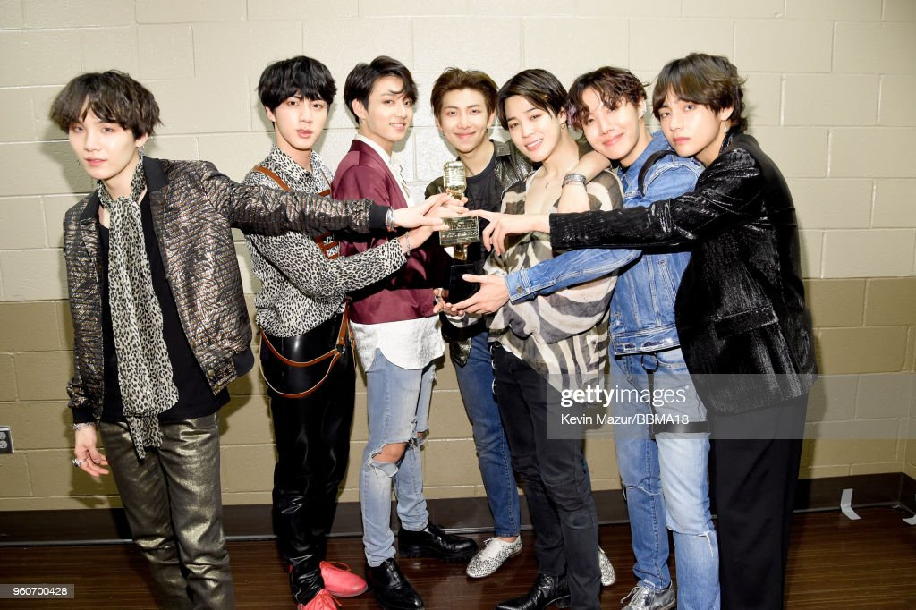 2018 Billboard Music Awards - Backstage : News Photo