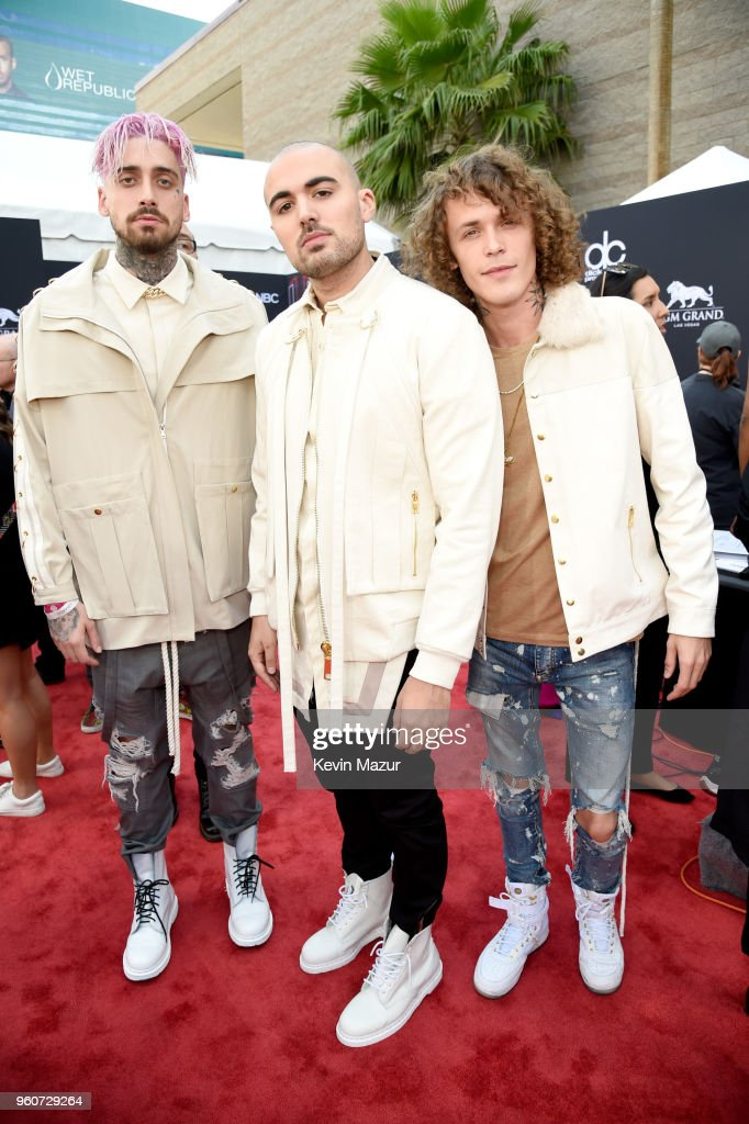 Musical group Cheat Codes attend the 2018 Billboard Music Awards at MGM Grand Garden Arena on May 20, 2018 in Las Vegas, Nevada.