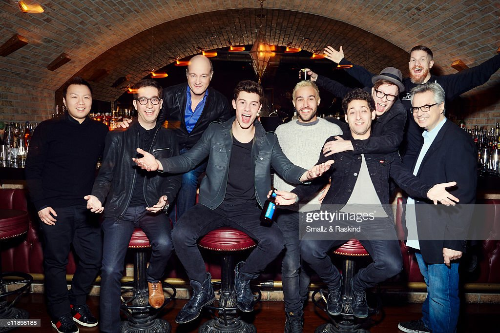 Shawn Mendes, Fall Out Boy and Execs, Billboard, December 10, 2015