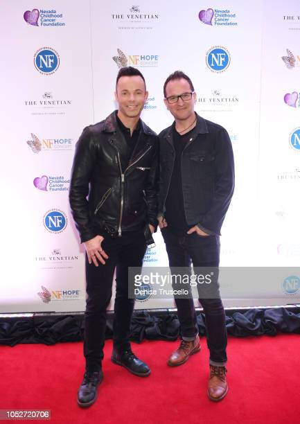 Musical group Finding Faith arrives at Las Vegas's 8th annual NF Hope Concert A Benefit for Neurofibromatosis at the Palazzo Theatre at The Palazzo...