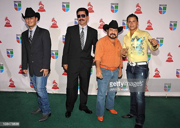 Musical group Grupo Desafio and musician Teo Villa attends the 10th Annual Latin GRAMMY Awards held at the Mandalay Bay Events Center on November 5...