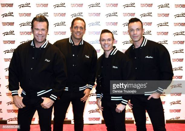 Musical group Human Nature arrive WOW WORLD OF WONDER premiere at Rio AllSuite Hotel Casino on October 7 2017 in Las Vegas Nevada