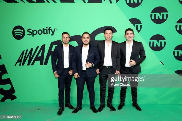 Musical group La Explosiva attends the 2020 Spotify Awards at the Auditorio Nacional on March 05 2020 in Mexico City Mexico