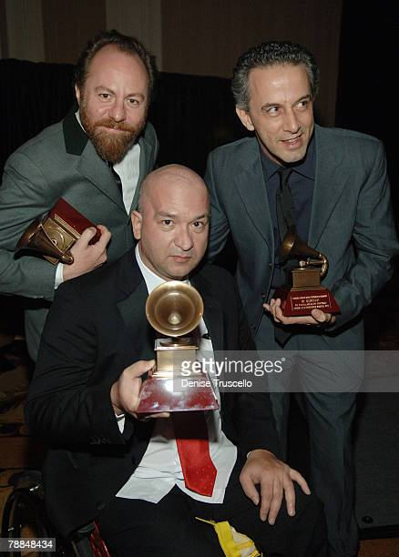 Musical group Os Paralamas do Sucesso attends the 8th Annual Latin GRAMMY Awards Special Awards Ceremony at The Four Seasons Hotel on November 07,...