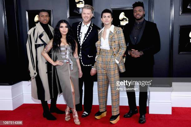 Musical group Pentatonix attends the 61st Annual GRAMMY Awards at Staples Center on February 10 2019 in Los Angeles California