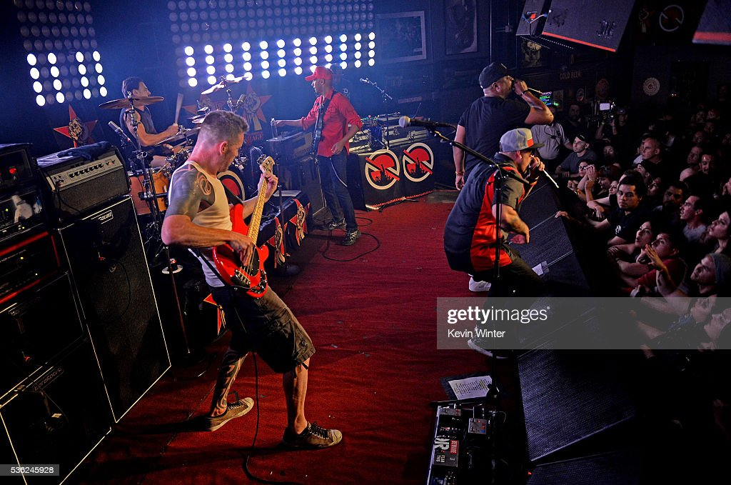 Prophets Of Rage Perform At The Whisky : News Photo