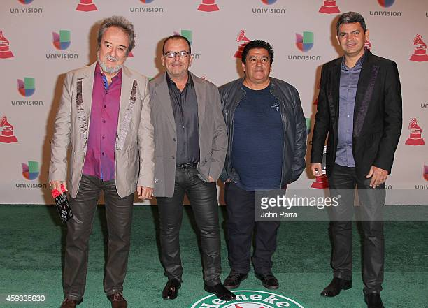Musical group Quinteto Violado attends the 15th annual Latin GRAMMY Awards at the MGM Grand Garden Arena on November 20 2014 in Las Vegas Nevada